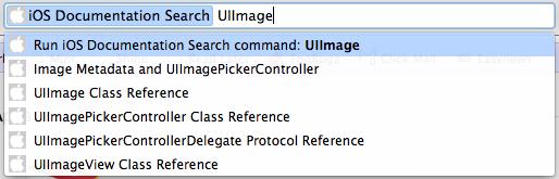 Sample iOS Chrome Search