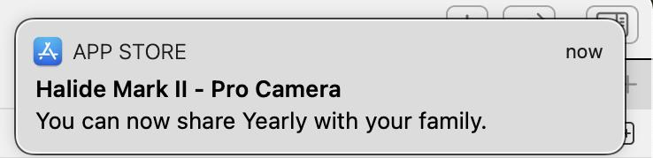 Bullshit Push Notification Screenshot